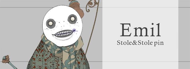 Emil Stole&Stole pin