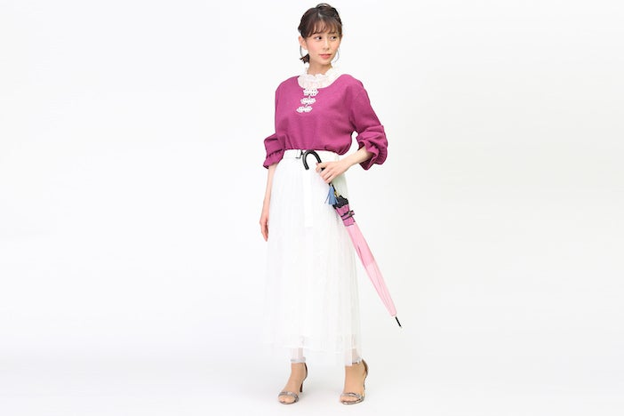 『刀剣乱舞-ONLINE-』コラボ傘に合わせた私服コーデをご紹介!