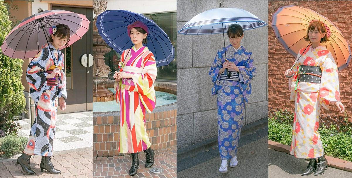 『刀剣乱舞-ONLINE-』より、刀剣男士をイメージした傘に新モデルが登場!