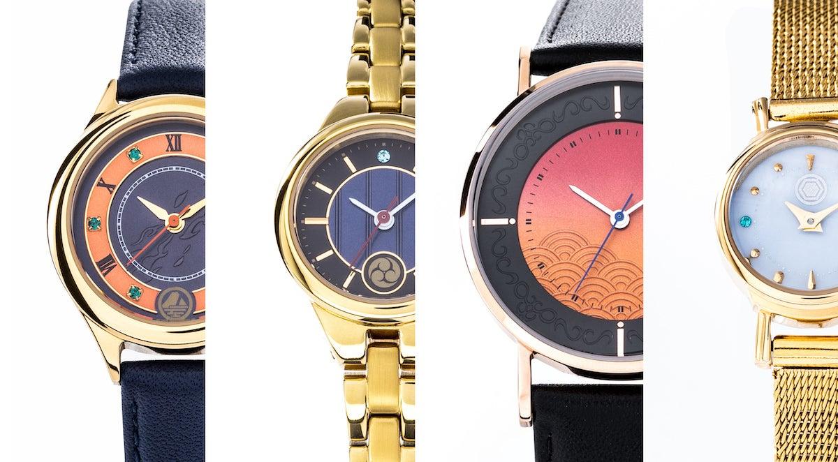 『刀剣乱舞-ONLINE-』より、「極」となった刀剣男士をイメージした腕時計が新登場!