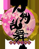 『刀剣乱舞-ONLINE-』ロゴ