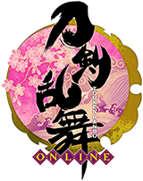 刀剣乱舞-ONLINE- ロゴ