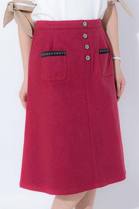 葉月 陽モデル スカート