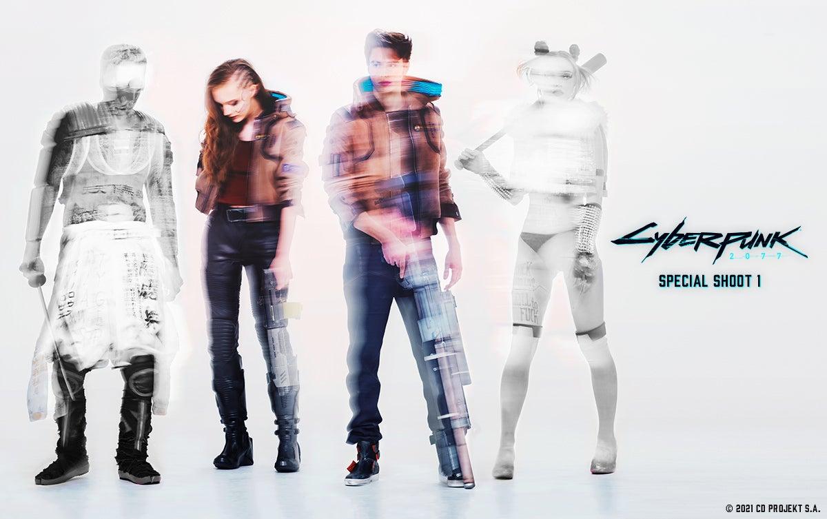 『サイバーパンク2077(Cyberpunk 2077)』スペシャルシューティングレポート① 主人公・Vのビジュアルを完全再現! © 2021 CD PROJEKT S.A.