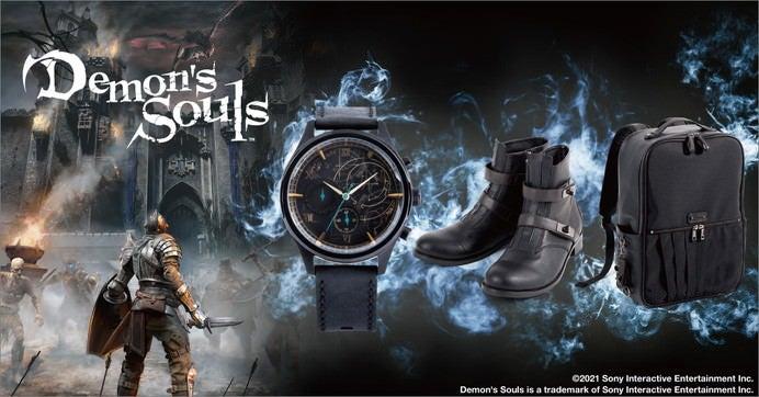 『Demon's Souls(デモンズソウル)』×SuperGroupies コラボアイテム ©2021 Sony Interactive Entertainment Inc.Demon's Souls is a trademark of Sony Interactive Entertainment Inc.