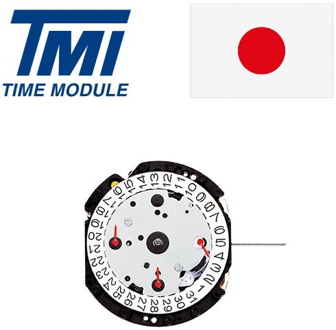 安心の日本製ムーブメント