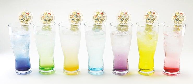 「IDOLiSH7」のキャラクターが全員揃った「ナナツイロ REALiZE」(各600円)