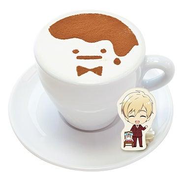 「社長も休憩♩ king's pudding caféカプチーノ」(600円)