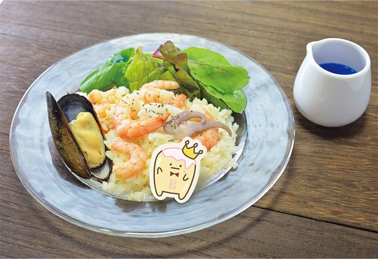 「TRIGGERの願いは Shine On The Seafood Pilaf」(950円)