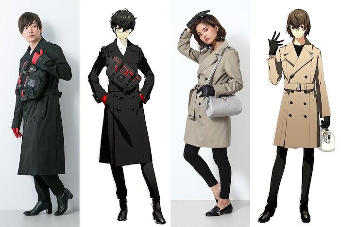 『ペルソナ5』より、ジョーカーと明智吾郎をイメージしたファッションアイテムが登場!