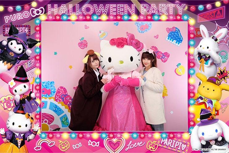 レディキティハウスでドレスアップしたキティちゃんと一緒に写真を撮っちゃおう!