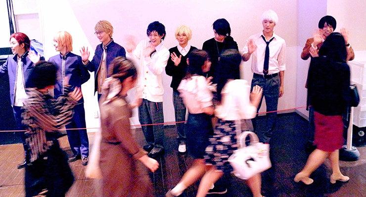 会場が一体となって主題歌「√ Shining!!!!!」を熱唱