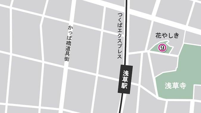 ⑨浅草の名所「花やしき」