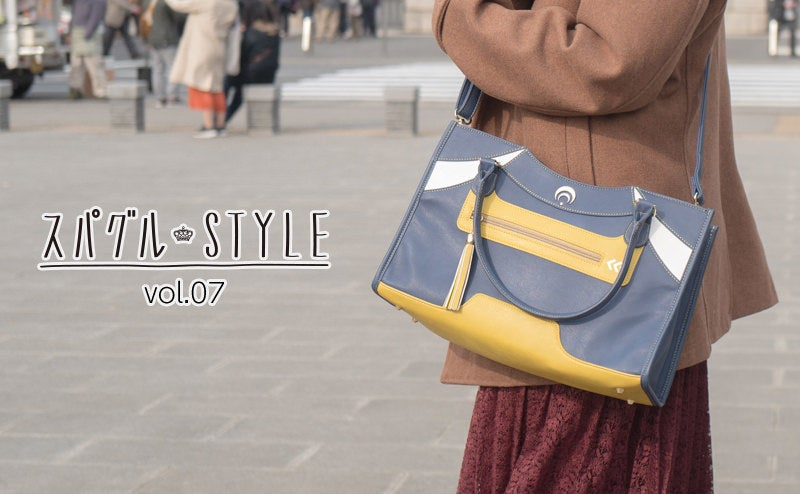 東京国立博物館に来ていた『刀剣乱舞-ONLINE-』 三日月宗近モデルバッグを持った職人系女の子が登場!
