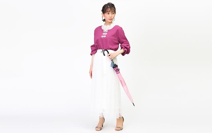 『刀剣乱舞-ONLINE-』コラボ傘に合わせた私服コーデ!
