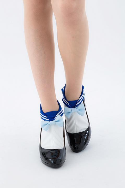 セーラーマーキュリー モデル エリマキソックス 靴下 美少女戦士セーラームーン