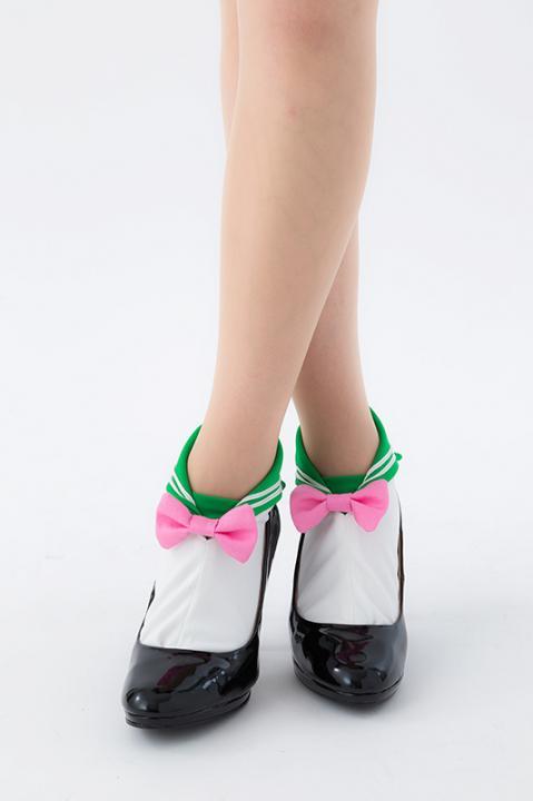 セーラージュピター モデル エリマキソックス 靴下 美少女戦士セーラームーン