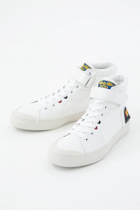 宇宙服ホワイトソールver スニーカー 靴 宇宙兄弟