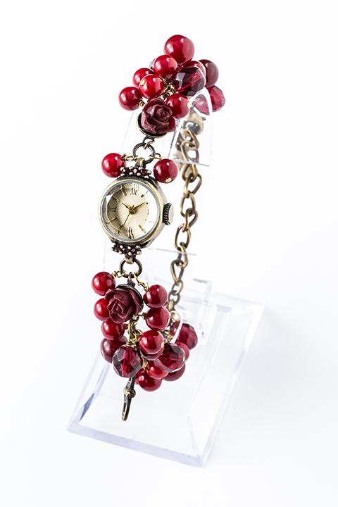 真紅 モデル 腕時計 ブレスレットウォッチ ローゼンメイデン