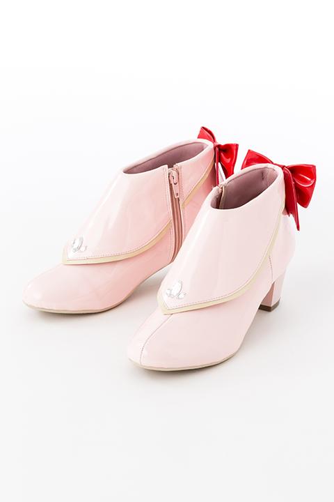 鹿目まどか モデル レインシューズ 靴 魔法少女まどか☆マギカ