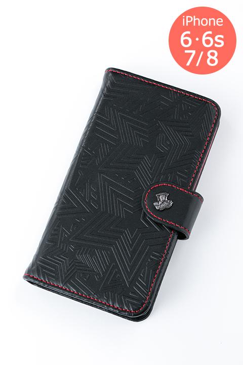 ペルソナ5 モデル iPhone6・6s/7/8兼用サイズ 手帳型スマートフォンケース スマホケース