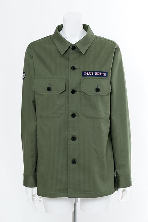 緑谷出久 モデル ミリタリーシャツ シャツ 僕のヒーローアカデミア