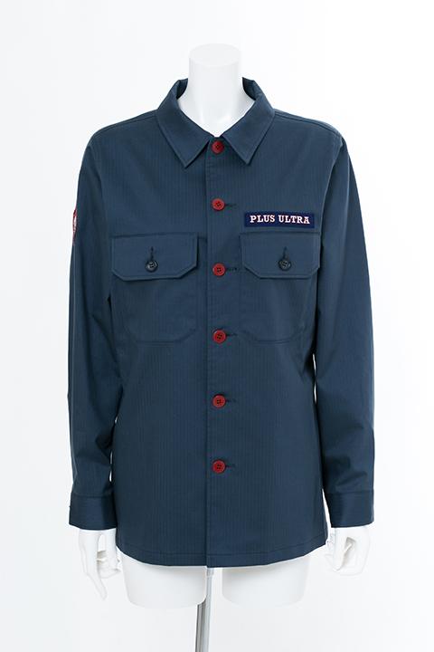 轟焦凍 モデル ミリタリーシャツ シャツ 僕のヒーローアカデミア