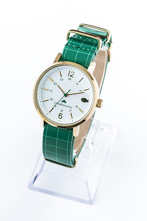 チョロ松 モデル 腕時計 リストウォッチ おそ松さん