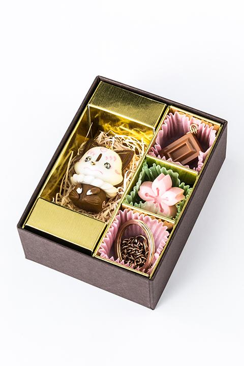 こんのすけ ミルクチョコ モデル チャームセット バッグチャーム 刀剣乱舞-ONLINE-