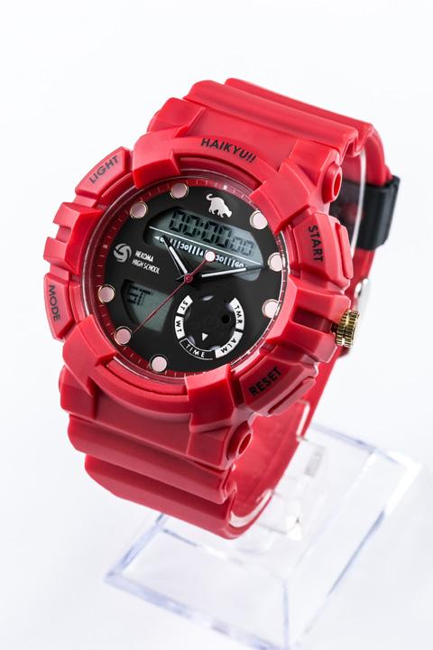 音駒高校 モデル 腕時計 リストウォッチ ハイキュー!!