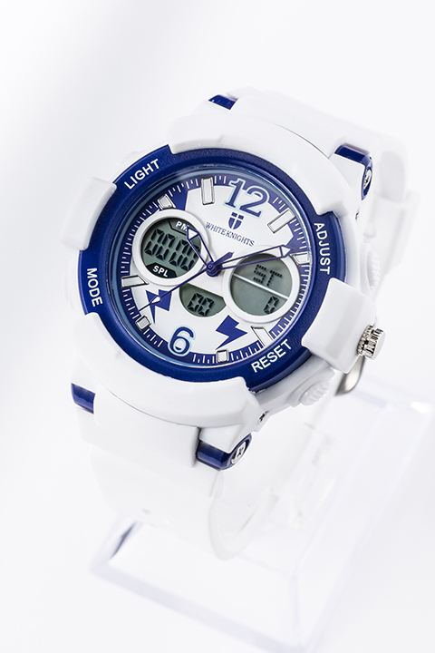 王城ホワイトナイツ モデル 腕時計 リストウォッチ アイシールド21