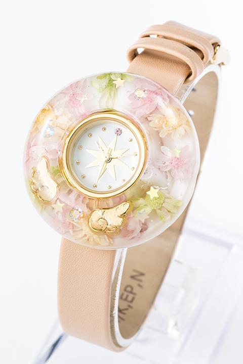 木之本 桜 2wayクリア腕時計 カードキャプターさくら クリアカード編