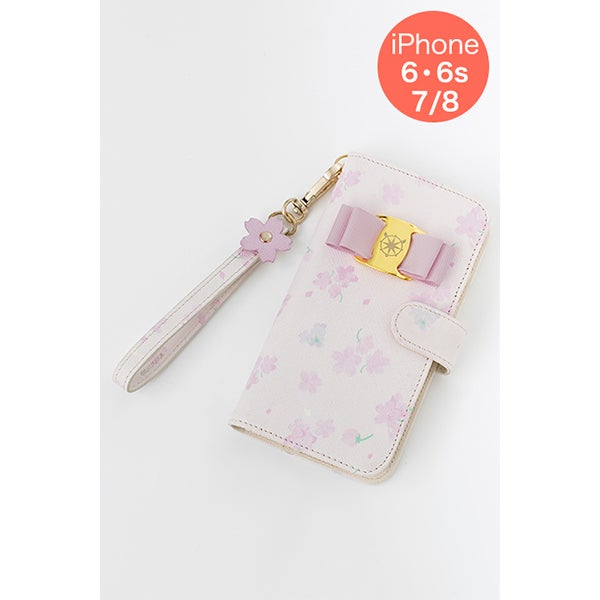 木之本 桜 スマートフォンケース iPhone6・6s/7/8対応 カードキャプターさくら クリアカード編