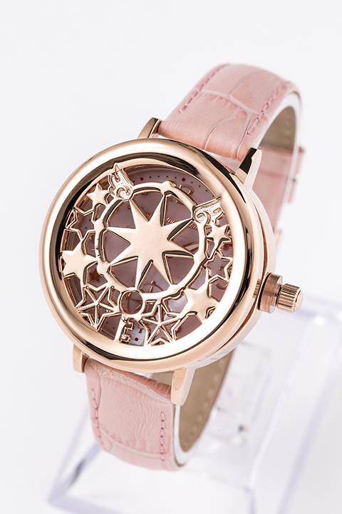 木之本 桜 蓋付き腕時計 カードキャプターさくら クリアカード編
