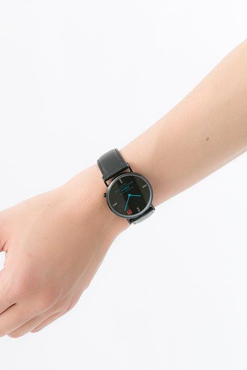 初音ミクモデル 腕時計(メンズサイズ)