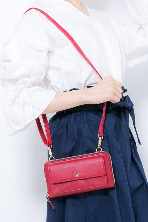 紅月モデル 財布ショルダー あんさんぶるスターズ!
