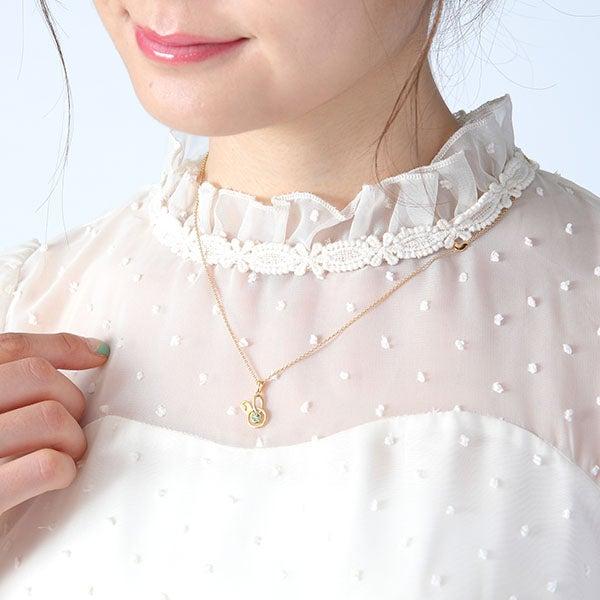 弥生 春モデル ネックレス ツキウタ。 THE ANIMATION