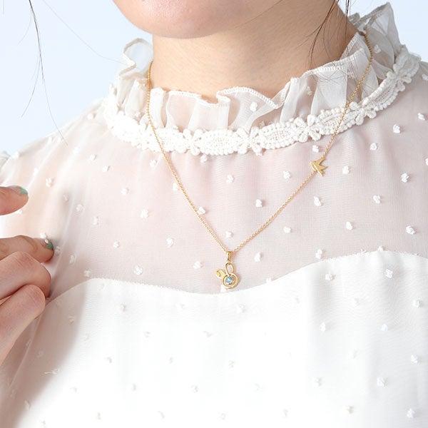 皐月 葵モデル ネックレス ツキウタ。 THE ANIMATION