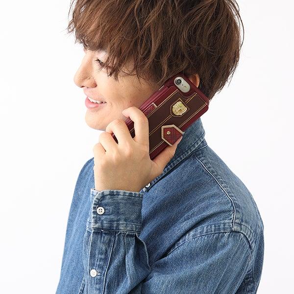 ピンクチェックスクールモデル スマートフォンケース iPhone6/6s/7/8対応 アイドルマスター シンデレラガールズ