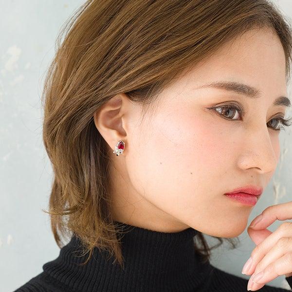 与謝野晶子モデル ピアス 映画「文豪ストレイドッグス DEAD APPLE(デッドアップル)」