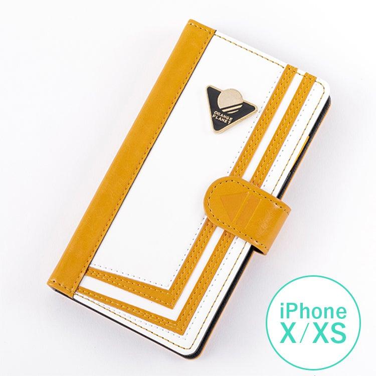 オレンジぷらねっと モデル iPhoneX/Xs対応 スマートフォンケース ARIA