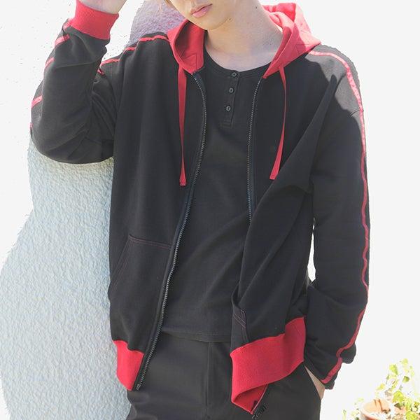 切島鋭児郎モデル ルームパーカー 僕のヒーローアカデミア