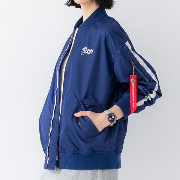 江戸川コナン モデル ブルゾン 名探偵コナン×SuperGroupies