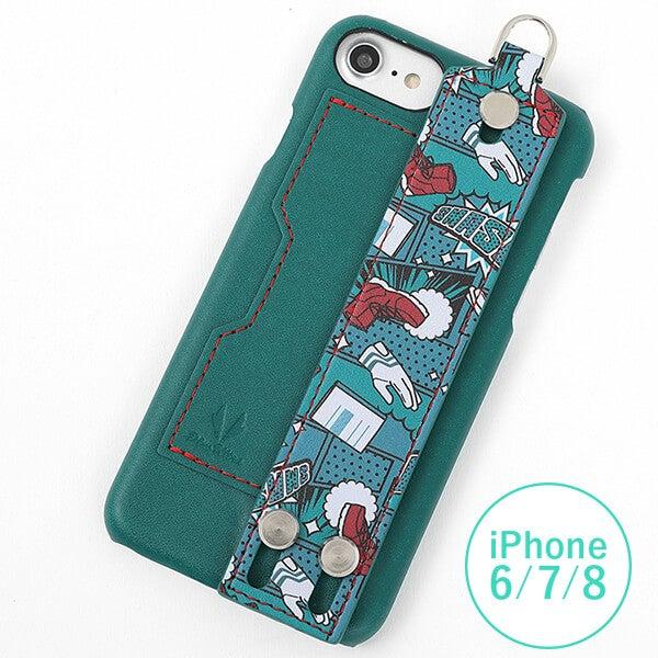 緑谷出久 モデル iPhone6/6S/7/8対応 スマートフォンケース 僕のヒーローアカデミア