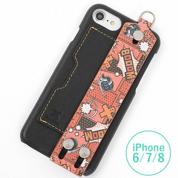 爆豪勝己 モデル iPhone6/6S/7/8対応 スマートフォンケース 僕のヒーローアカデミア