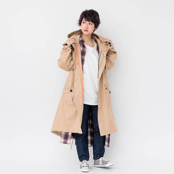 夏目友人帳 モデル フーデットコート