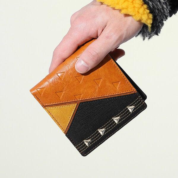 我妻善逸 モデル 二つ折り財布 鬼滅の刃