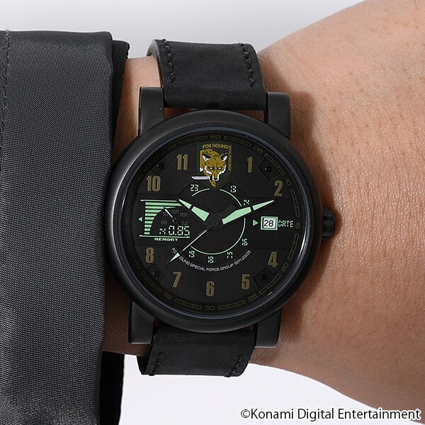 ソリッド・スネーク モデル 腕時計 METAL GEAR SOLID メタルギアソリッド