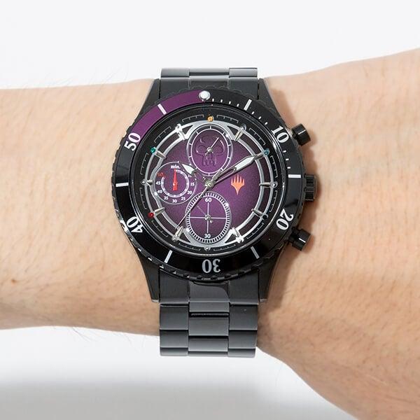 黒マナ モデル 腕時計 マジック:ザ・ギャザリング