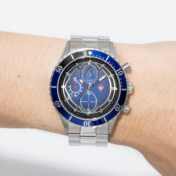青マナ モデル 腕時計 マジック:ザ・ギャザリング